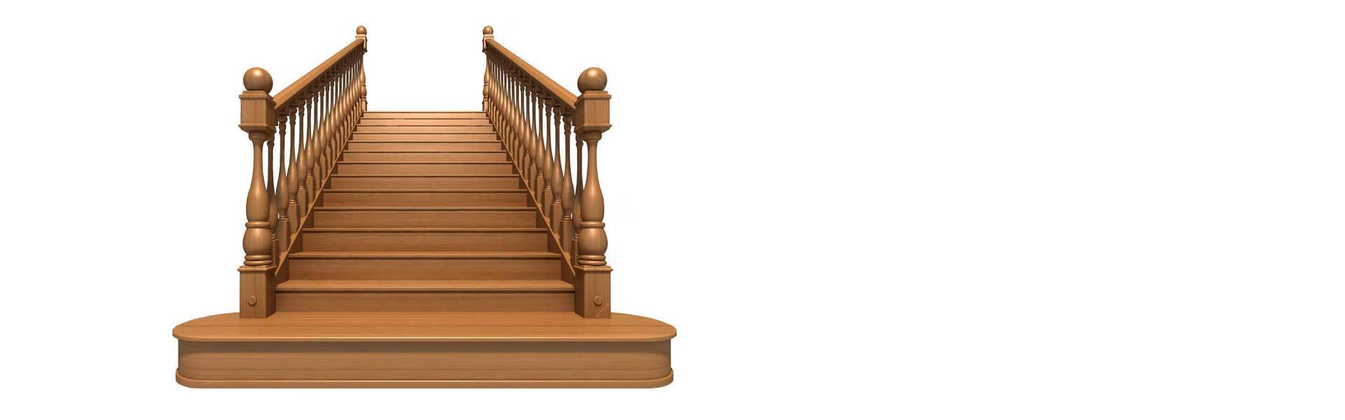 Scari structura din lemn