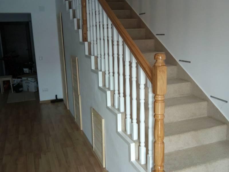 Poza Balustrada din lemn de interior M8 1