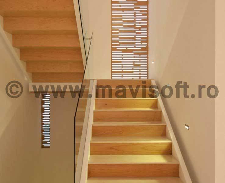 Poza Scara interioara din lemn M11 1