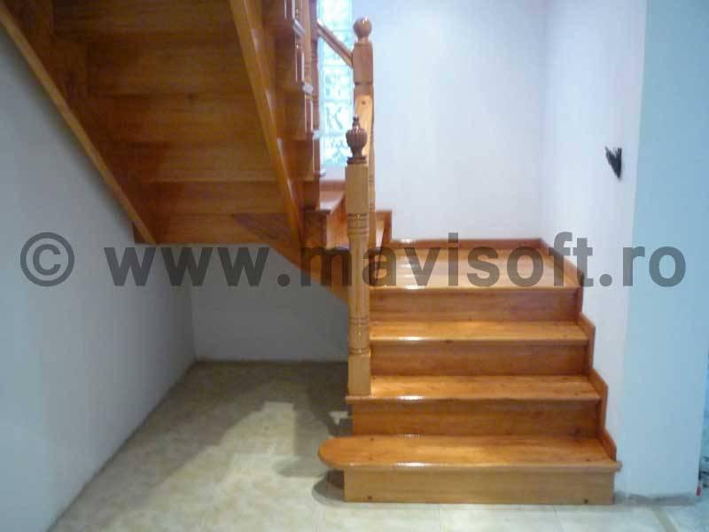 Poza Scara interioara din lemn M12 1