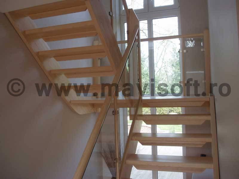 Poza Scara interioara din lemn M13 1