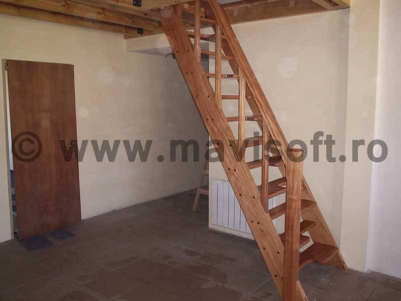 Poza Scara interioara din lemn M18 1