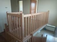 Poza Balustrada din lemn de interior M9 4