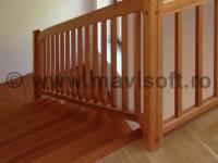 Poza Balustrada interioara din lemn M1 1