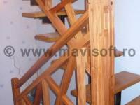 Poza Balustrada interioara din lemn X 1