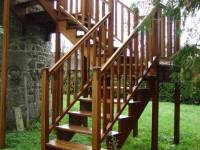 Poza Scara exterioara din lemn M2 1