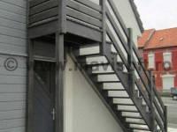 Poza Scara exterioara din lemn M3 2