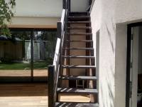Poza Scara exterioara din lemn M6 7