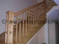 Poza Scara interioara din lemn M15 1