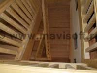 Poza Scara interioara din lemn M16 1