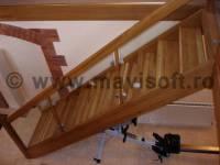 Poza Scara interioara din lemn M17 1