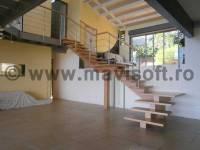 Poza Scara interioara din lemn M2 1