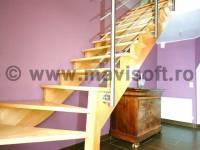 Poza Scara interioara din lemn M5 1