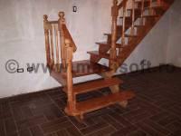 Poza Scara interioara din lemn M7 1