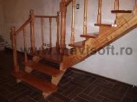 Poza Scara interioara din lemn M7 2