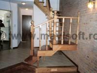Poza Scara interioara din lemn M8 1